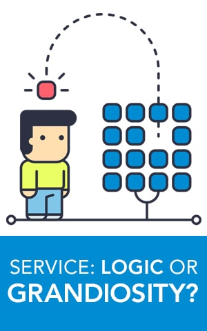 Service Logic - Design Thinking - Blue Door Consulting Oshkosh