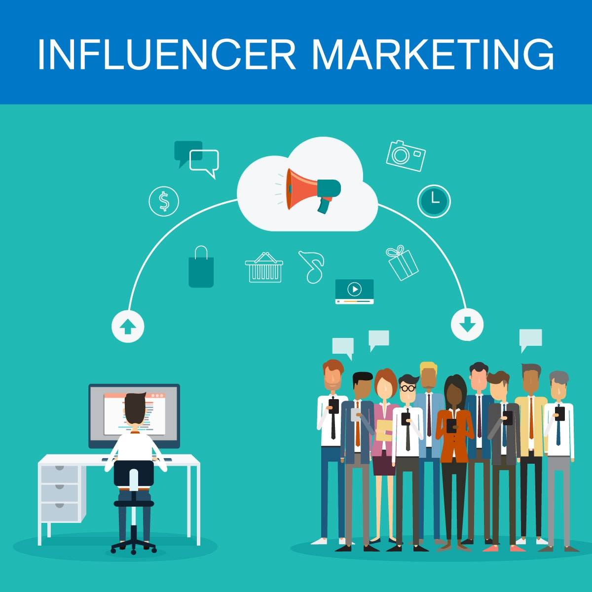 Influencer Marketing Graphic