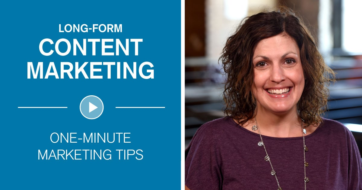 Long-Form Content Marketing 101